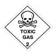 Hazard safety sign - Toxic (2) 066